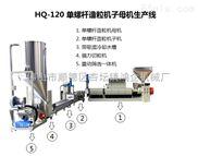 HQ-120T-二段式单螺杆造粒机