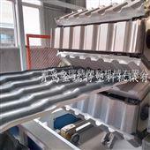 SJSZ80/156PVC波浪瓦设备-中空树脂瓦生产线
