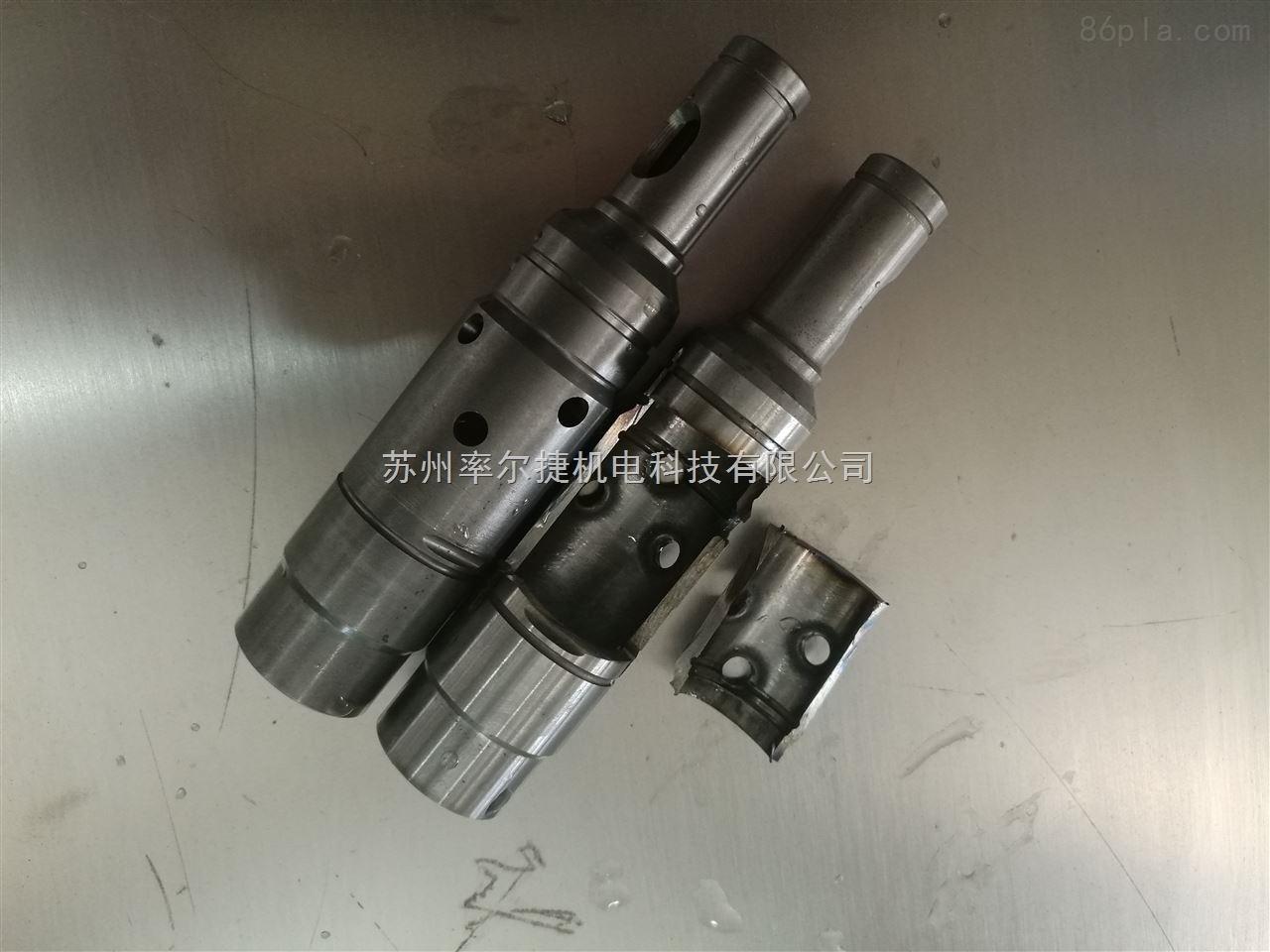djk6032 电镐气缸电锤气缸交叉气孔去毛刺设备图片