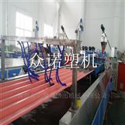 防水wpc木塑型材生產線