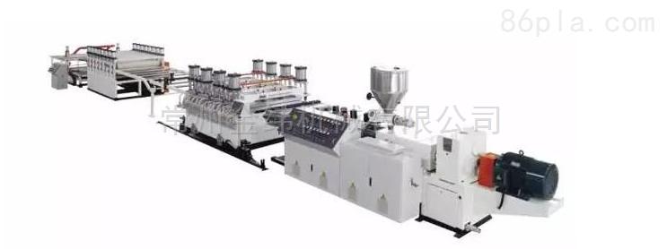金纬PVC发泡地板生产线