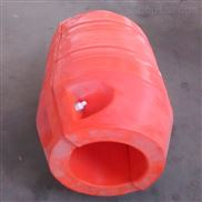 孔径360管道浮筒两半片塑料管线浮子