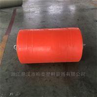 东江水电厂取水口塑料拦污浮桶装置
