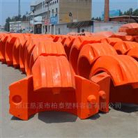 电缆线水上浮漂聚氨酯塑料浮桶价格