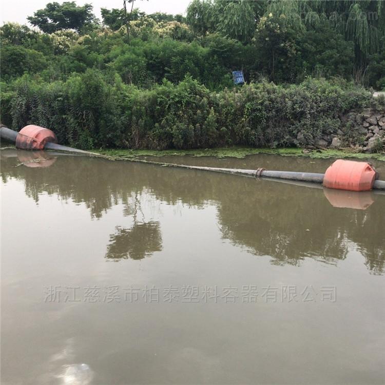 两半片浮筒河道抽沙管浮制造商家