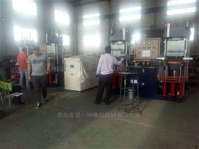 VC-100-3RT100吨真空硫化机_100吨抽真空热压成型机