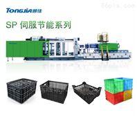 蔬菜筐专用生产设备 塑料筐注塑机生产厂家
