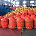 上庄水库高强度拦污浮排1米塑料浮桶