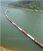 天开水库进水口拦污设备自浮式拦污漂排