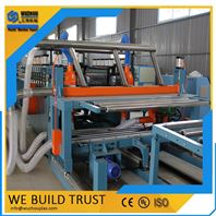 915mm PVC发泡建筑模板设备