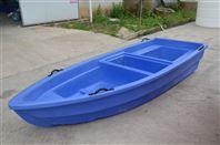 湖北塑料船3.3米冲锋舟 水库养殖捕鱼船