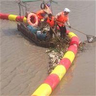警示攔截浮體攔截水草浮體水浮萍垃圾攔浮桶