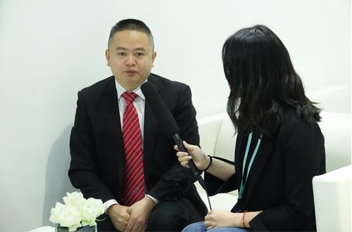 CHINAPLAS 2018:访广东拓斯达总司理黄代波